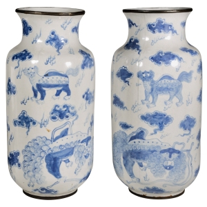 1st dibs - Blue and white 2