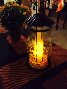 candy corn lights