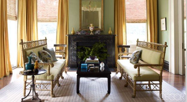 Julia Reed's home -Elle Decor