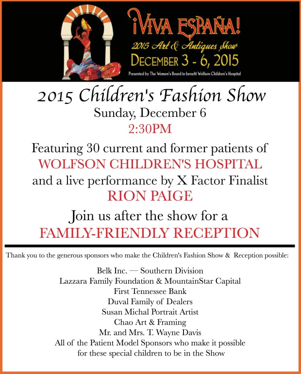 Children's Fashion Show